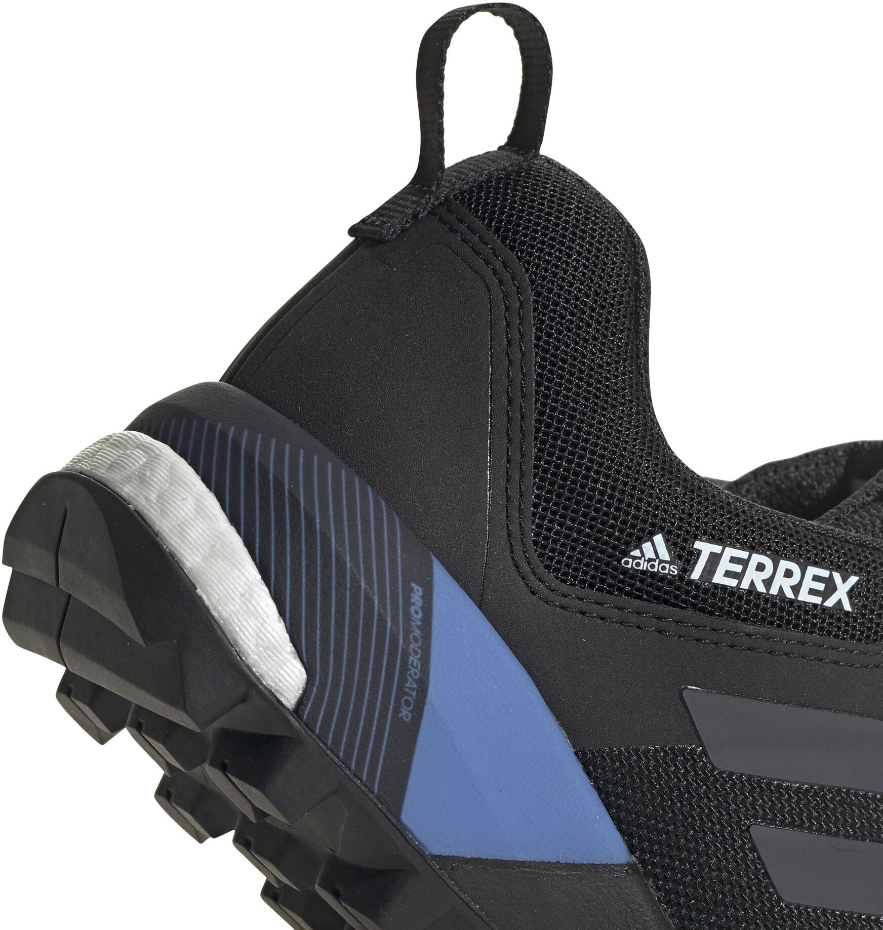 adidas TERREX Skychaser XT Gore Tex Zapatillas Senderismo Mujer, core blackgrey fourreal blue